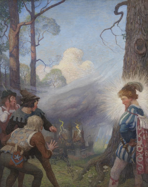 N.C. Wyeth's Strangest Adventure, By Jonathan Spies