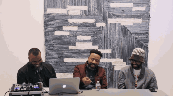 Current Playlist: Jamal Cyrus, Flash Gordon Parks and Jamire Williams in Conversation