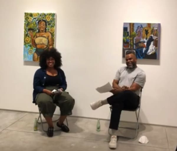 Alexis Pye and Jamal Cyrus in conversation
