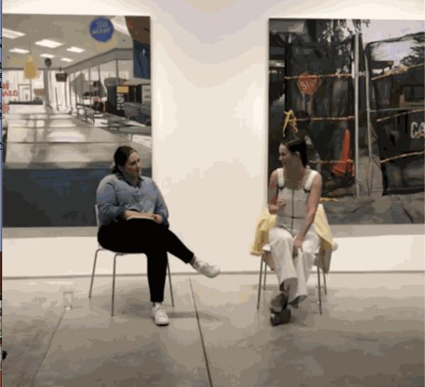 Charis Ammon and Sarah Beth Wilson in conversation