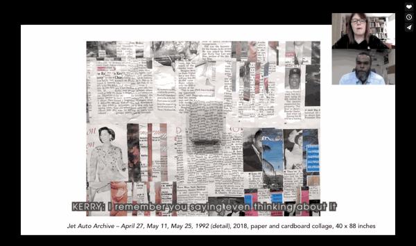 Jamal Cyrus: Virtual Studio Visit, May 9, 2020