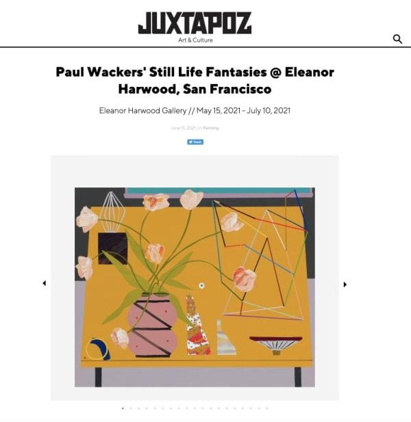 Paul Wacker's The Space We Take in Juxtapoz