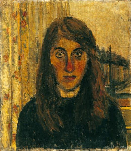 Jean Cooke discusses her Self-Portrait