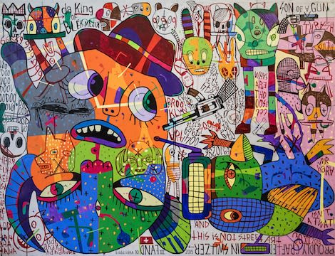EddiE haRA – This is NOT Street Art!