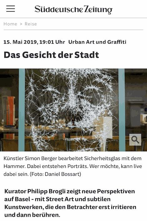 DAS GESICHT DER STADT – Süddeutsche Zeitung
