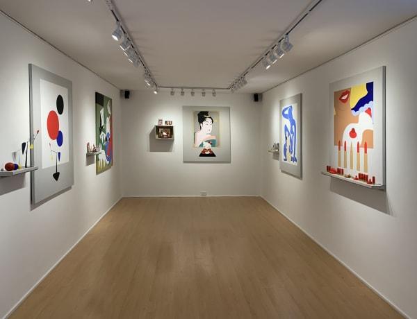 The exhibition at Beatriz Esguerra Arte, Bogota, Colombia