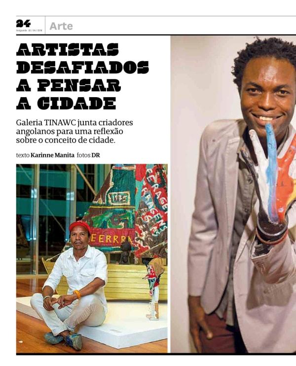 Nelo Teixeira and Cristiano Mangovo