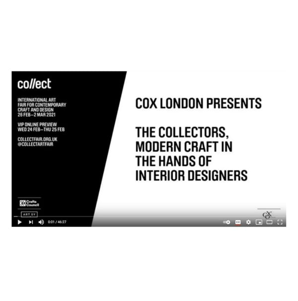 Cox London presents: The Collectors, modern craft in the hands of interior designers