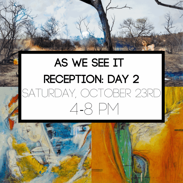 As We See It: Reception Day 2