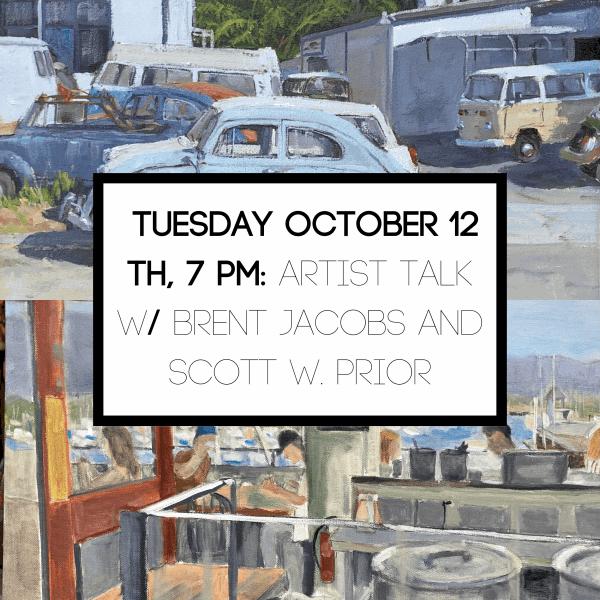 Artist Talk w/ Brent Jacobs and Scott W. Prior