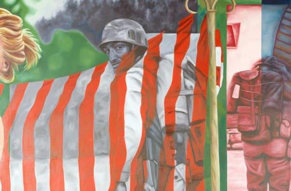 "Devon Nowlin Off Guard, 2018 Oil on canvas 60 x 40"""