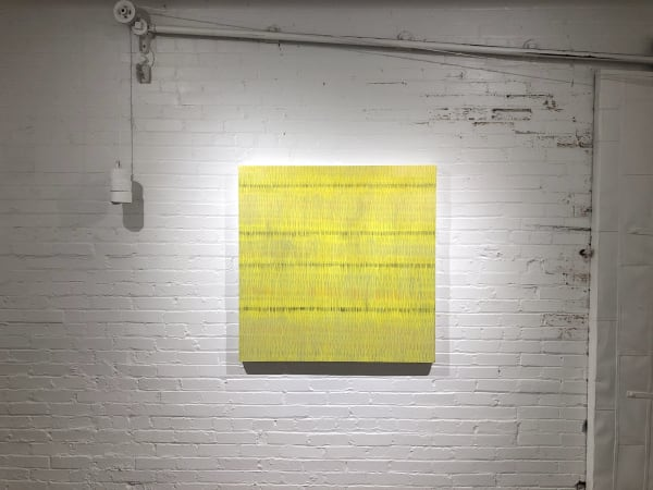Installation view of Jeffrey Poole's Playing Fields