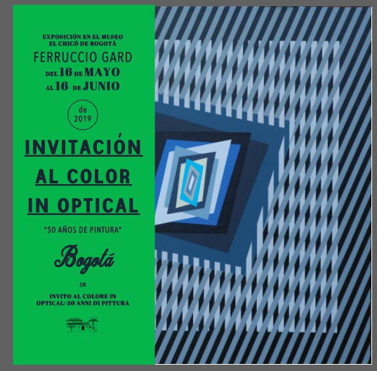 Colur in Optical - 50 YEARS OF PAINTING