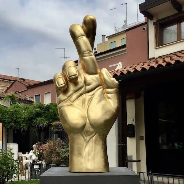 X Square Sculpture