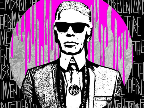 Endless Artist at Pitti Immagine Uomo for Karl Lagerfeld