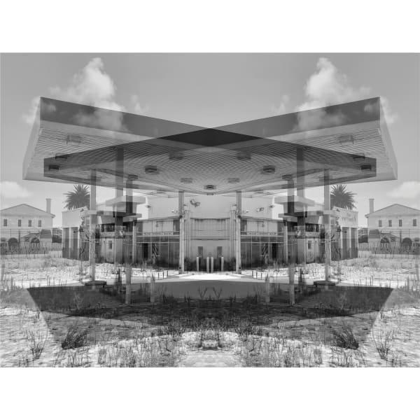 Tent, Observatory, 2019 Gelatin silver print