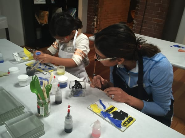 Glass Lab: Grown-ups & Kids Ages 6-8