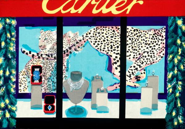 Stella Ebner, Cartier Christmas Window
