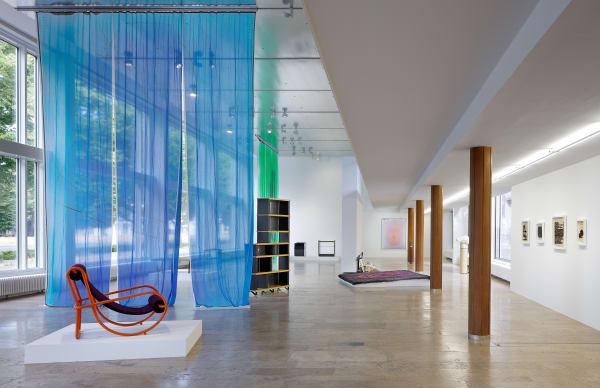 Installation view, The Displacement Effect, Capitain Petzel, 2021. Ph: Gunter Lepkowski