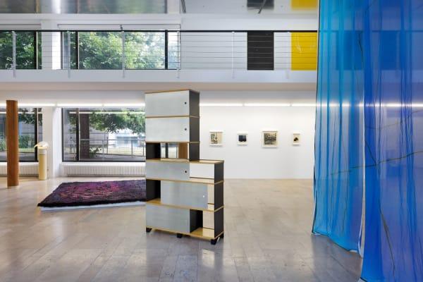 Installation view, The Displacement Effect, Capitain Petzel, Berlin, 2021. Ph: Gunter Lepkowski