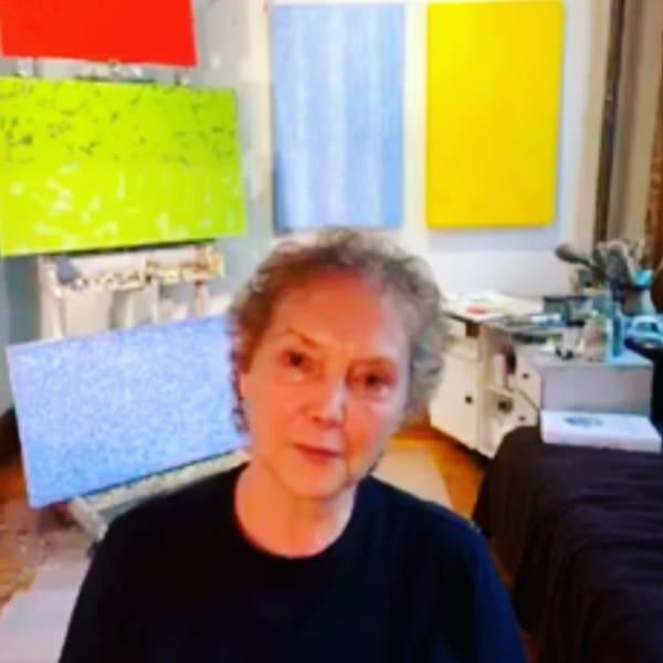 Virtual Studio Visit with Painter Francie Lyshak