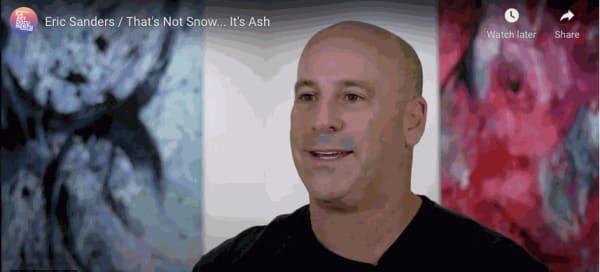 That's Not Snow...It's Ash