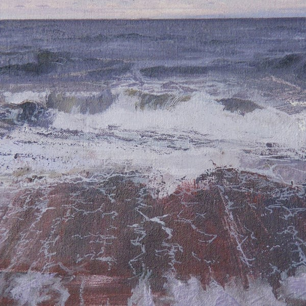North Sea sudy - number 5 by Peter Wylie