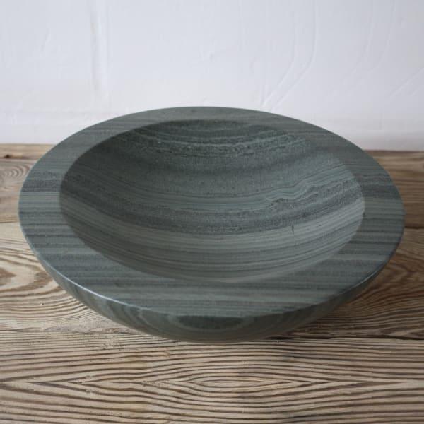 "<span class=""artist""><strong>Teucer Wilson</strong></span>, <span class=""title""><em>Carrara Marble bowl</em>, 2021</span>"