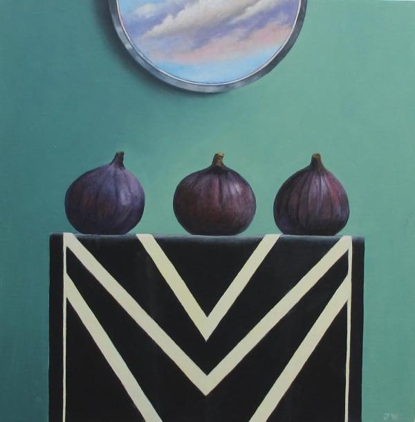 "<span class=""artist""><strong>Joceline Wickham</strong></span>, <span class=""title""><em>Four Poppy Heads</em>, 2021</span>"