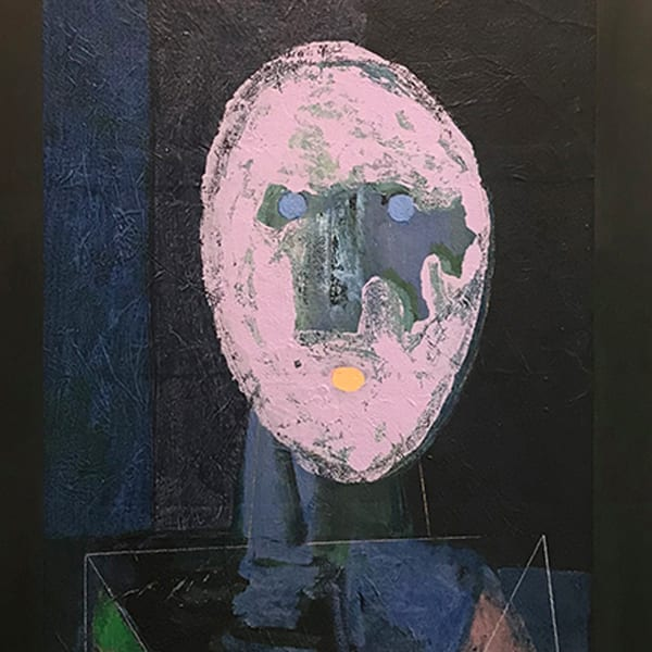 "<span class=""artist""><strong>Brüer Tidman</strong></span>, <span class=""title""><em>Self-Portrait. Confusion</em>, 2009</span>"