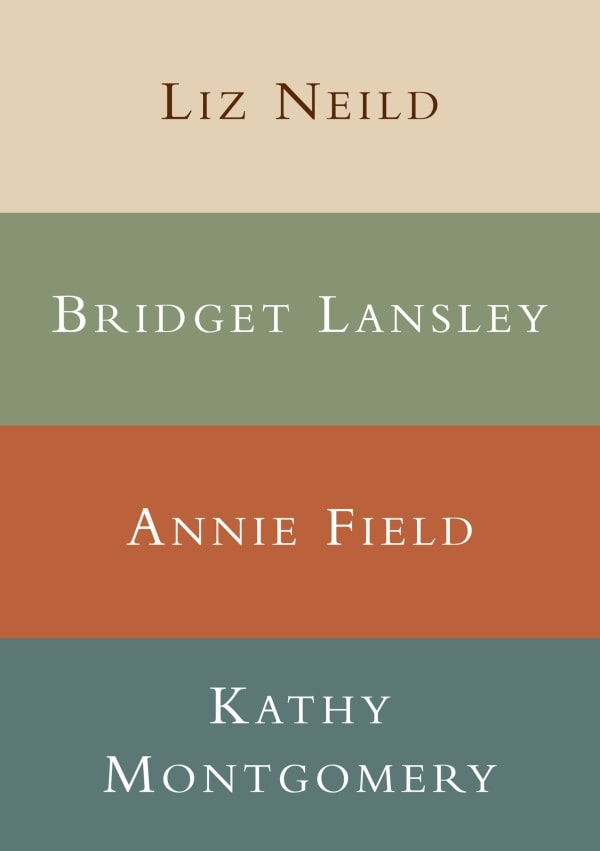 Four Woman Show - Bridget Lansley, Annie Field, Kathy Montgomery and Liz Neild 2011