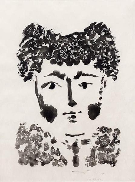 "Pablo Picasso, Torero, from ""Le Carmen des Carmen"", 1964"