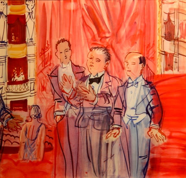 Raoul Dufy, Wine is Essential for Writers, 1936
