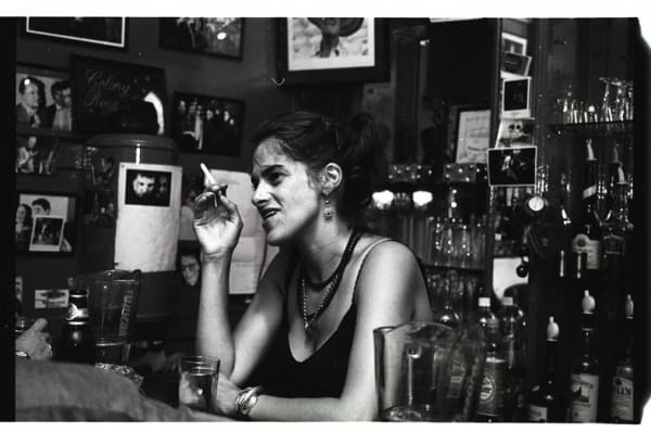 Tracey Emin at The Colony Room Club © Clancy Gebber Davies