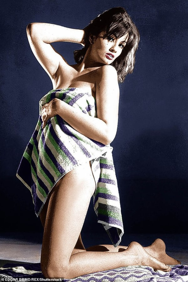 Christine Keeler (pictured) was one of the glamorous society members who visited The Colony back in the 1960s