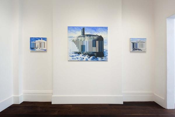 Darren Coffield Against The Tide Installation shot