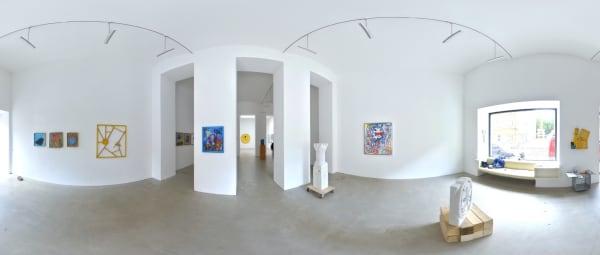 Ernst Koslitsch Raum mit Licht Galerie Wien
