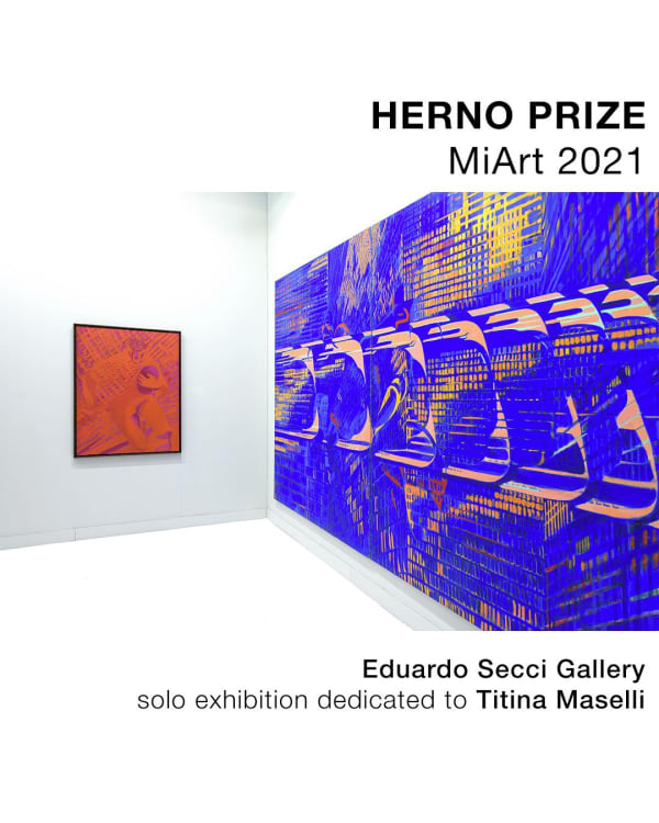 Eduardo Secci was awarded the Herno Prize - MiArt 2021