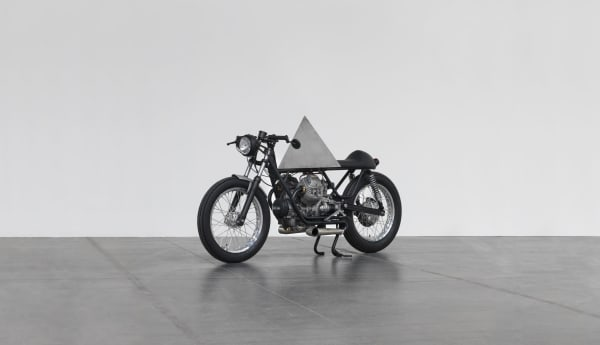 Easy rider. The myth of the motorbike as art