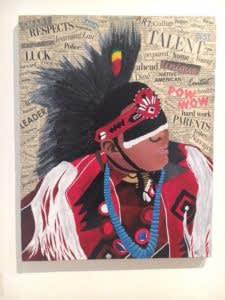 Kody Dancer by Kiara Tom (Navajo)