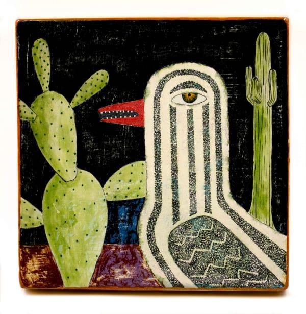 Wesley Anderegg, Arizona Night Bird, 2017