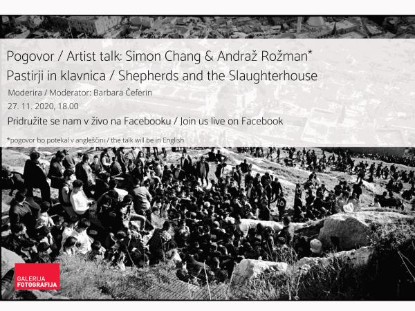 Artist Talk / Simon Chang & Andraž Rožman