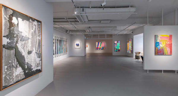 ARTpiece 14   The abstract art of Albert Irvin and Li Lei