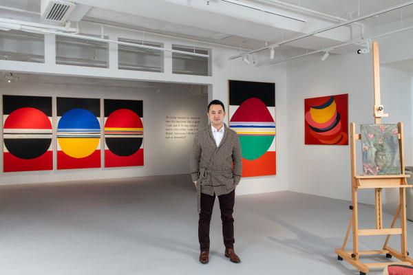 3812 Gallery co-founder Calvin Hui
