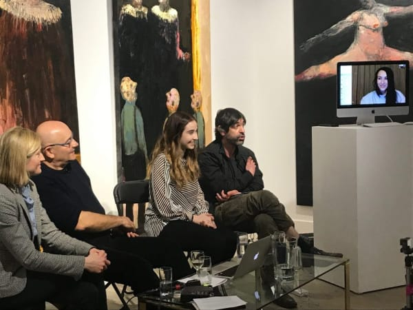 SILVER LINING   Niyaz Najafov, Natalia Isaeva, Professor Alex Seago and Charlotte Bonham-Carter