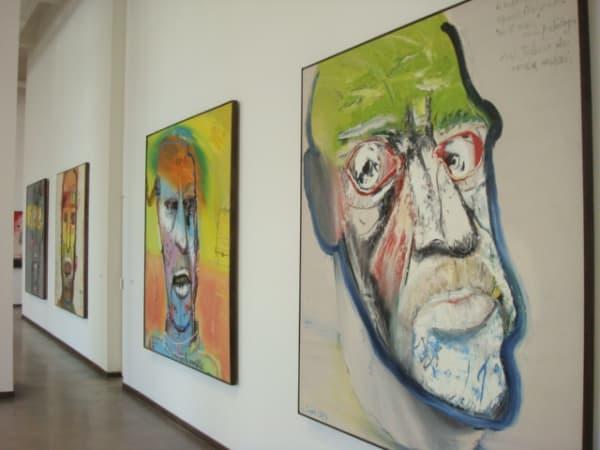 Mattia Moreni: Il Percorso Interrotto - Ultimo decennio 1985 - 1998 | Kunsthaus Amburgo