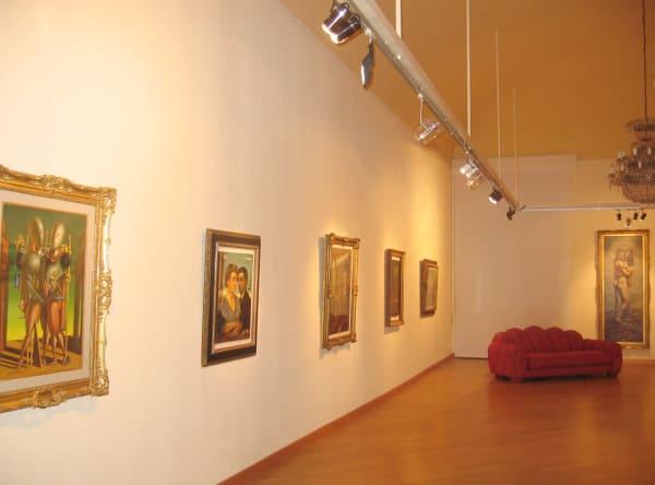 Metafisico primo Il Grande Giorgio de Chirico and some painter friends