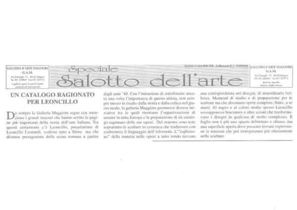 A Catalogue Raisonné for Leoncillo