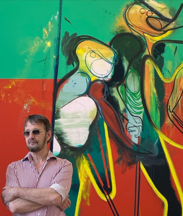 Daniel Richter: 'Soms heeft een schilderij woede nodig'
