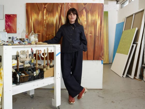 When Emerging Painter Louise Giovanelli Runs Out of Ideas, She Turns to an Ever-Growing Personal Image Library for a Jol